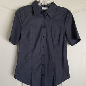 New York and company button up shirt